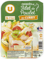Emincés de filet de poulet au curry - Produit - fr