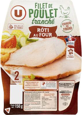 Filet de poulet rôti au four - Produit - fr