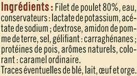 Filet de poulet rôti au four - Ingrédients