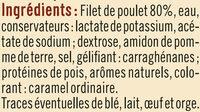 Filet de poulet rôti au four - Ingrédients - fr