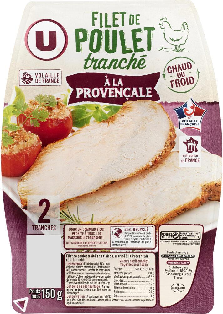 Filet de poulet à la provençale - Produit - fr