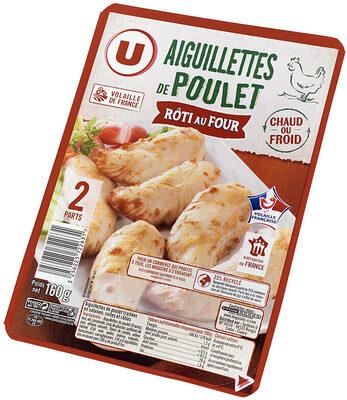 Aiguillettes de poulet rôti au four - Produit