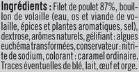 Rôti poulet tranchés - Ingredients