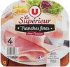Jambon cuit supérieur avec couenne - Product