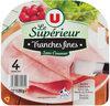 Jambon cuit supérieur sans couenne - Product