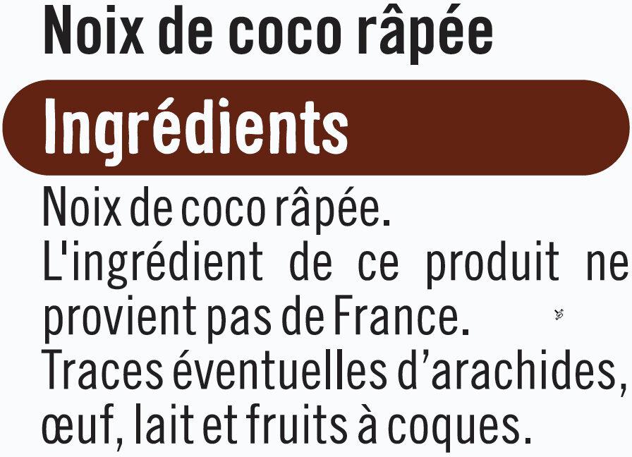 Noix de coco rapée - Ingrediënten - fr