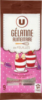Gélatine alimentaire - Product - fr
