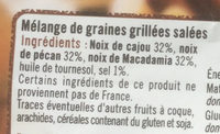 Mélange prestigieux - Ingredientes