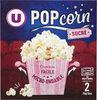 Popcorn sucré micro ondable en gobelet - Produit