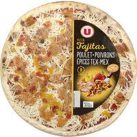 Pizza fajitas au poulet - Produit - fr