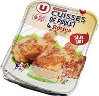 Cuisse de poulet rôtie - Produit