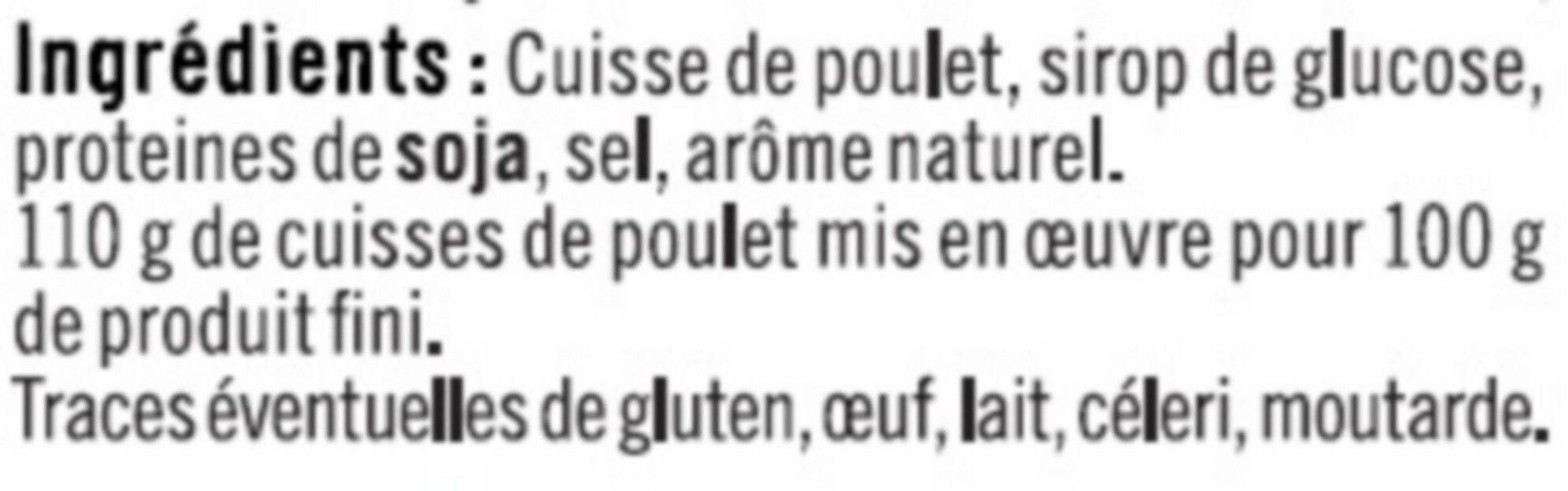 Cuisse de poulet rôtie - Ingrédients