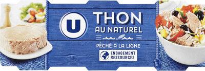 Thon naturel pêché à la ligne - Produit - fr