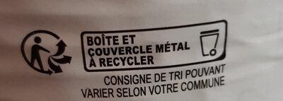 Petit salé aux lentilles - Instruction de recyclage et/ou informations d'emballage - fr