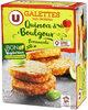 Galettes quinoa & boulgour provençale - Product
