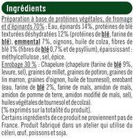Steaks panés au blé,épinards et emmental - Ingrediënten - fr