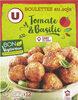Boulettes au soja tomate et basilic - Product