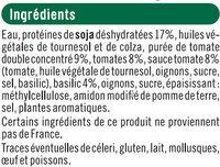 Boulettes au soja, tomate et basilic - Ingredients - fr