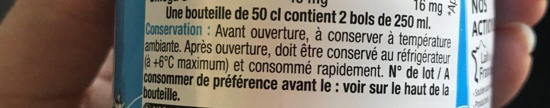 Lait 1/2 écremé - Ingrediënten - fr