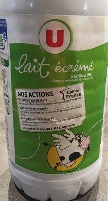 Lait Écrémé U - Product - fr