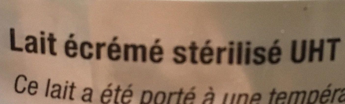 Lait Écrémé U - Ingredients - fr