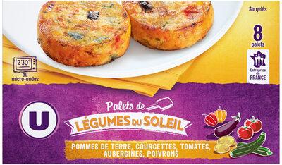 Palets de légumes du soleil - Prodotto - fr
