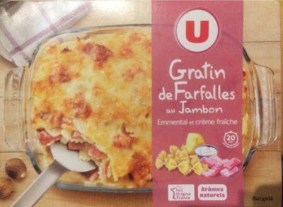 Gratin de Farfalles au jambon - Product