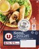 Nems au poulet x4 + sauce nuoc mam - Produit
