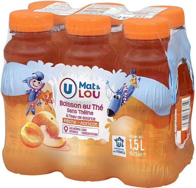 Boisson sans théine pêche abricot - Produit - fr