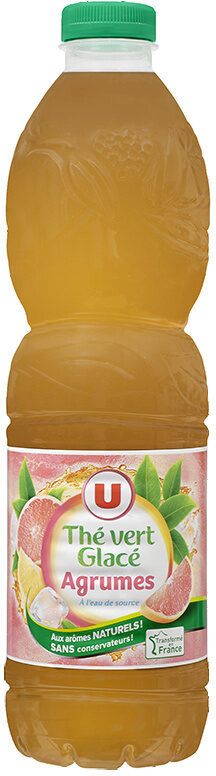Boisson au thé vert glacé saveur agrumes - Produit