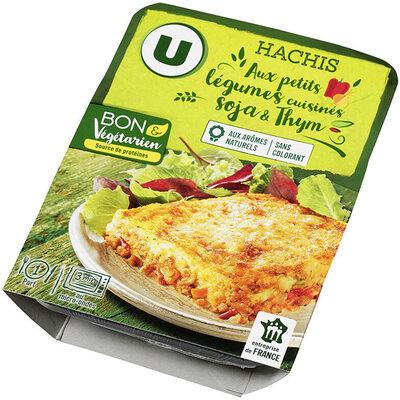 Hachis végétarien aux légumes cuisinés, protéines de soja, thym et basilic - Product
