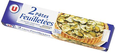Pâtes à tarte feuilletées - Produit