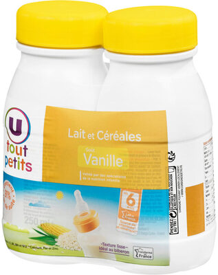 Lait et céréales goût vanille - Produit