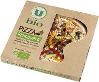Pizza aux légumes issue de l'agriculture biologique, - Produit