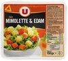 Dés de Mimolette et Edam au lait pasteurisé 24% de MG - Product