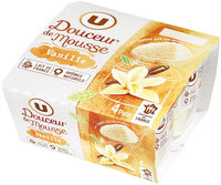 Spécialité laitière sucrée à la vanille, - Produit - fr