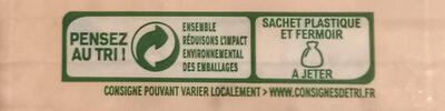 Galette de mais - Instruction de recyclage et/ou informations d'emballage - fr