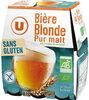 Bière blonde sans gluten, 5,5° - Product