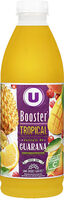 Jus de fruits booster tropical et extrait de guarana - Product