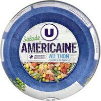 Salade Américaine au thon pêché à la ligne - Product - fr