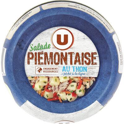 Salade thon piémontaise pêché à la ligne - Produit