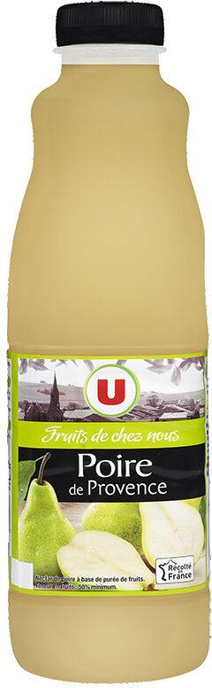 """Jus de poire de Provence """"fruits de chez nous"""" - Product"""