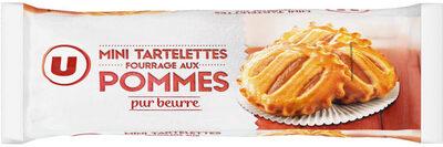 Mini tartelette pur beurre fourrage aux pommes - Produit - fr