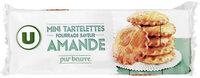 Mini tartelette pur beurre fourrage saveur amande - Product - fr