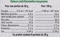 Mini tartelette pur beurre fourrage saveur amande - Nutrition facts - fr