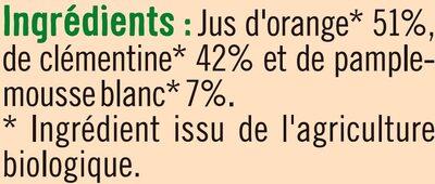 Pur jus Douceur d'agrumes - Ingredienti - fr