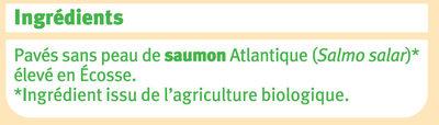 Pavé de saumon Ecosse - Ingrédients - fr