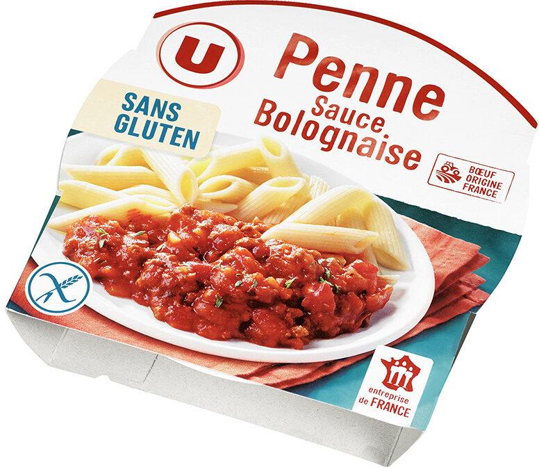 Pennes sauce bolognaise sans gluten - Produit - fr