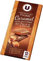 Chocolat lait four.caramel et lait frais Isigny et fleur de sel Guérande, - Produit