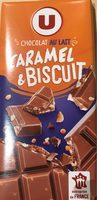 Chocolat au Lait Caramel et Biscuit - Product